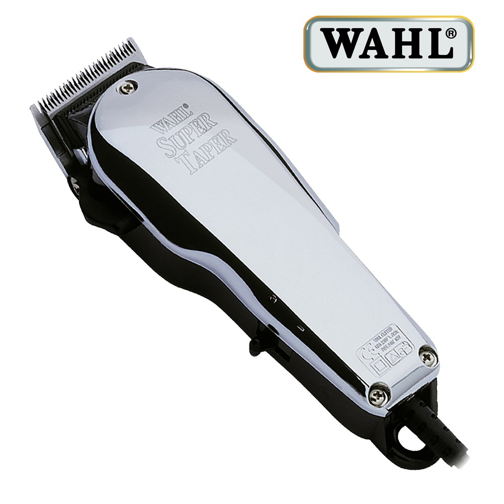 Wahl Professional Chrome Super Taper Haarschneider chrome finish