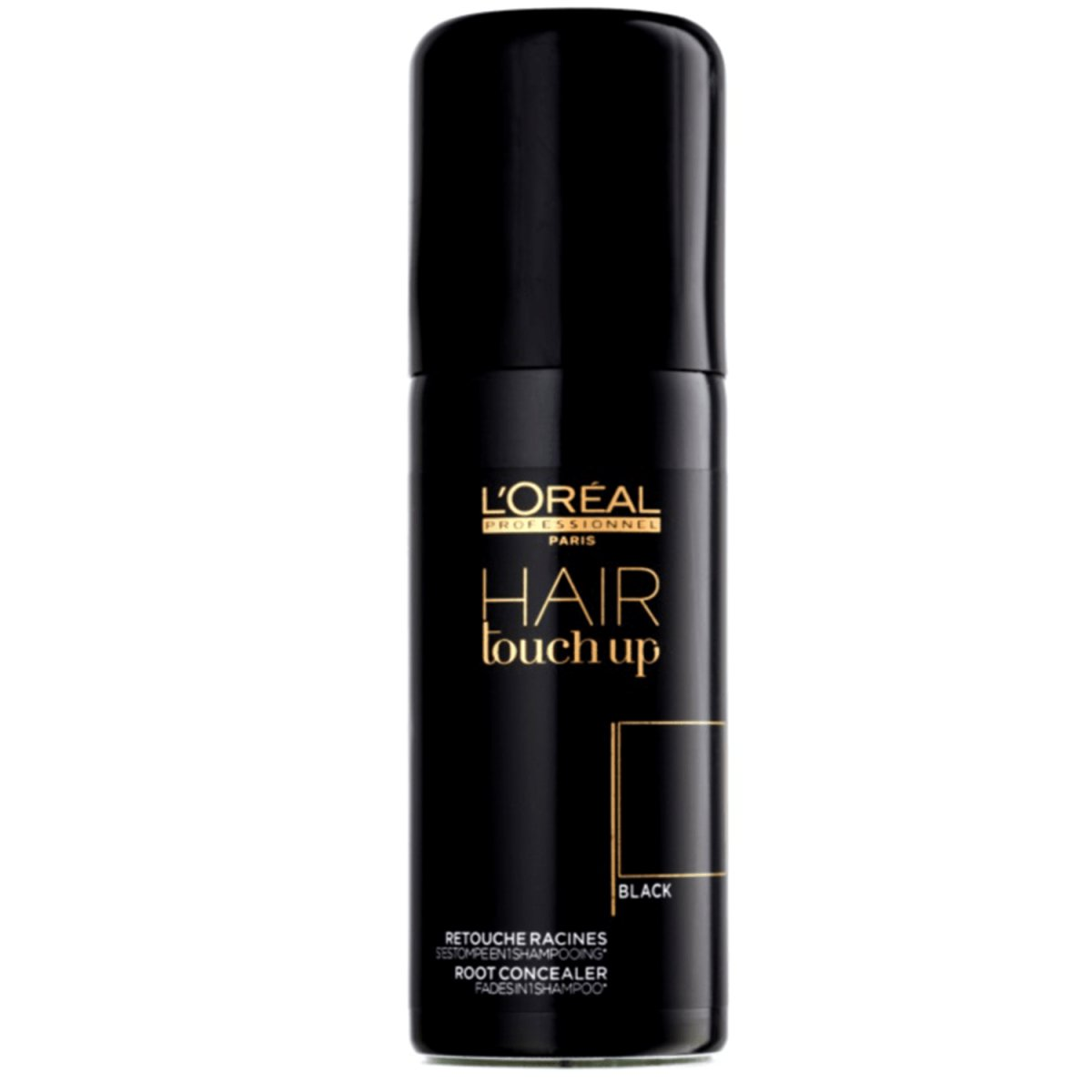 Loreal Hair Touch Up schwarz 75 ml