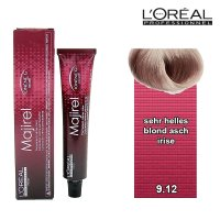 Loreal Majirel 50 ml 9.12 sehr helles blond asch irise