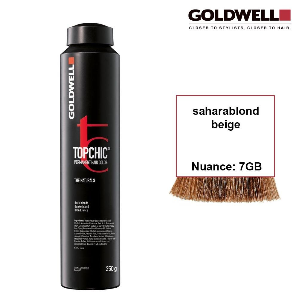 Goldwell Topchic 250 ml 7GB saharablond beige