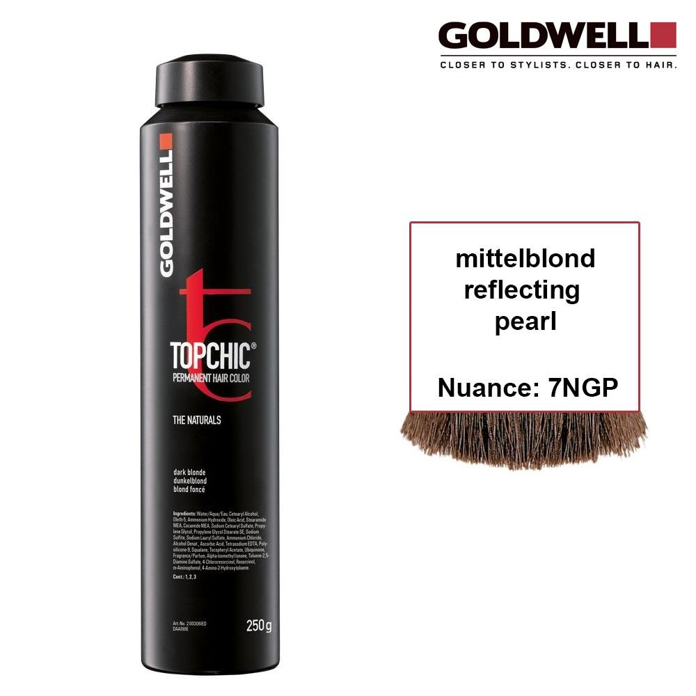 Goldwell Topchic 250 ml 7NGP mittelblond reflecting pearl