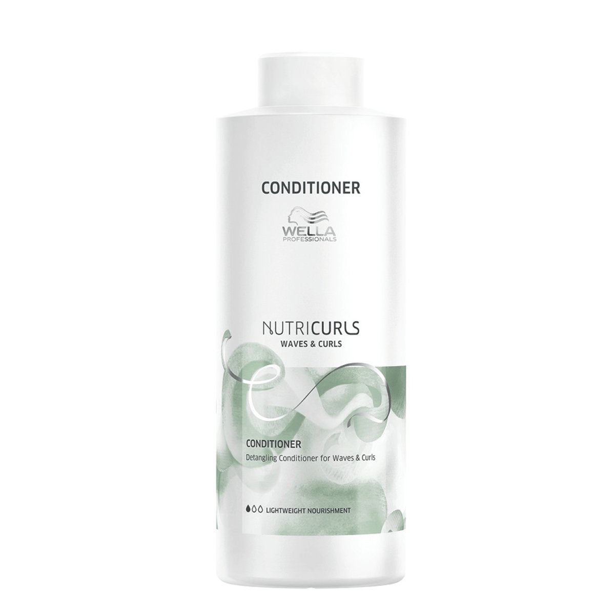 Wella Nutricurls Conditioner für lockiges und welliges Haar 1000 ml
