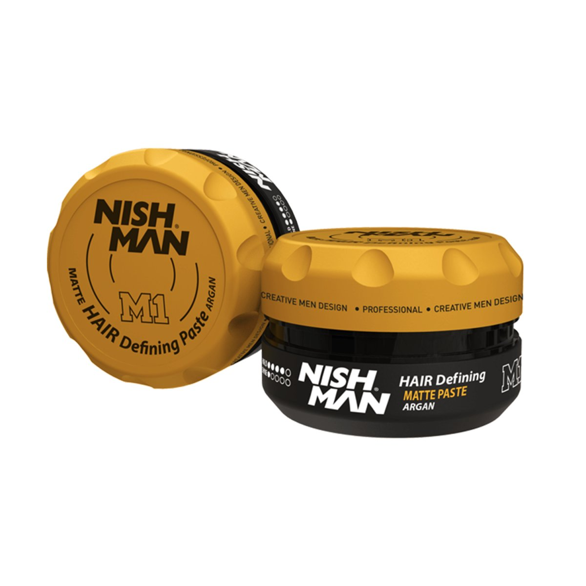 NISHMAN M1 Matte Hair Styling Defining Paste mit Argan 100 ml
