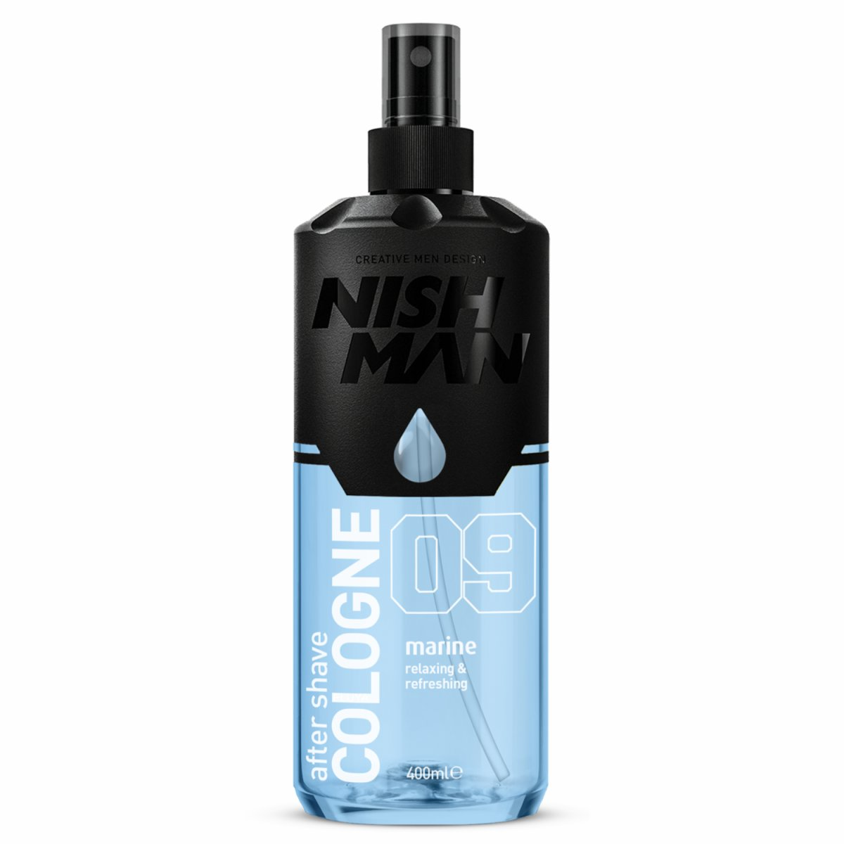 NISHMAN 09 After Shave Cologne - Marine 400 ml XL